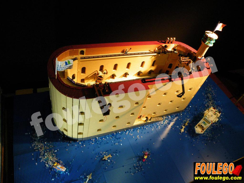 Fort Boyard Lego